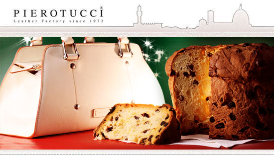 Toscanella Handbag and Panettone