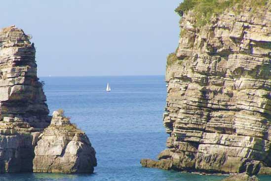 Amalfi Coast Line near Napoli