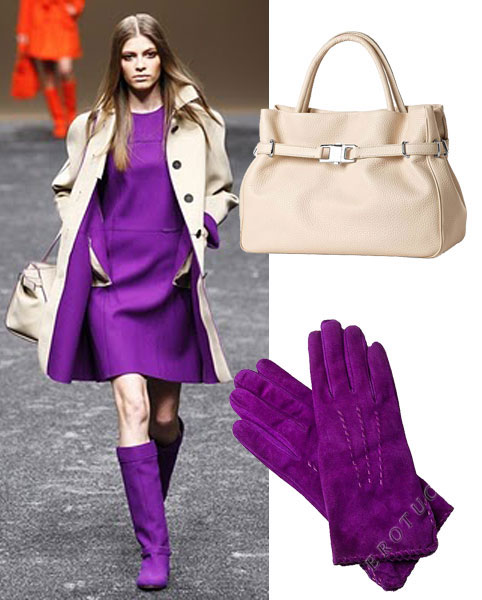 Missoni and Pierotucci use Purple for Fall 2011