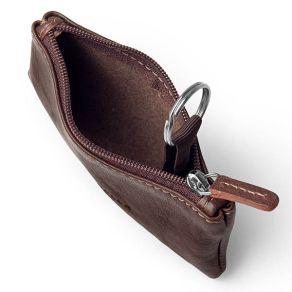 Tosanella Leather Coin Case with Key Ring