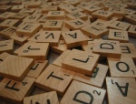 Tote bags in Scrabble