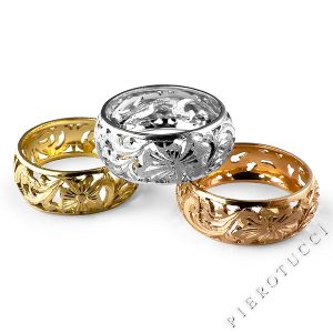 18K Italian gold Jewelry from Florence, Italy at Pierotucci.com