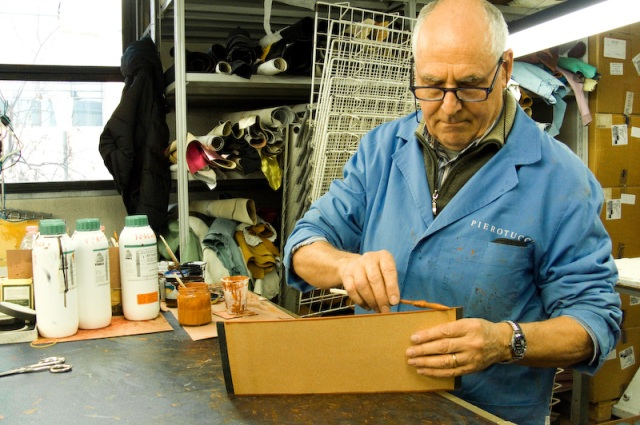 Pierotucci Leather Factory and their artisans