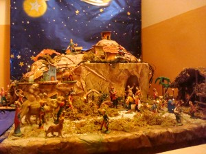 Tuscan Nativity Scene