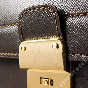 Saffiano leather detail