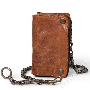 Campomaggi Leather Wallet and Tobacco Pouch