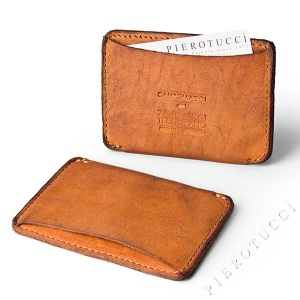 Campomaggi Card Holder in washed leather NEW 2012 Collection