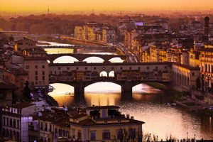 Skyline with Ponte Vecchio