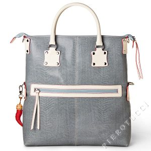 Fortunata Designer Tote bag in dusty blue