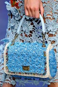 D&G Pastel shades in handbags
