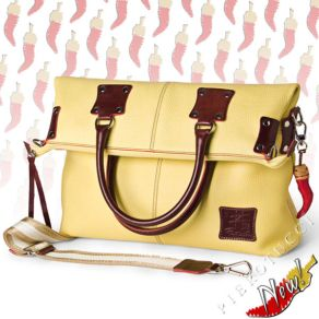 Fortunata Designer Handbag in Malt yellow