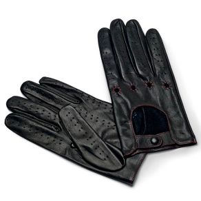 Mens Genuine Italian Leather Driving Gloves from Pierotucci.com