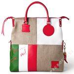 Japanese Tsunami Relief Aid FORTUNATA designer Handbag