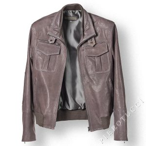 Leather Jacket, new collection in Florence Italy