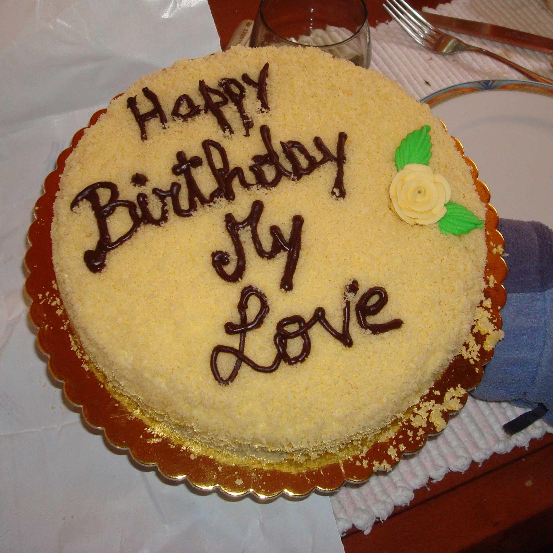 Happy Birthday My Love Chocolate Cake | www.pixshark.com ...