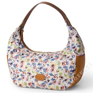 Campo dei Fiori Leather Bag, style hobo
