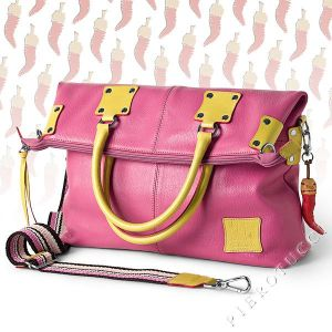 Fortunata Trendy Pink Designer Handbag for the Spring