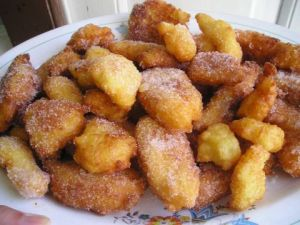 Frittelle di riso from Florence Italy