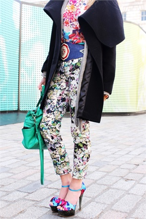 Mix and Match Floral Prints for Spring Summer 2012