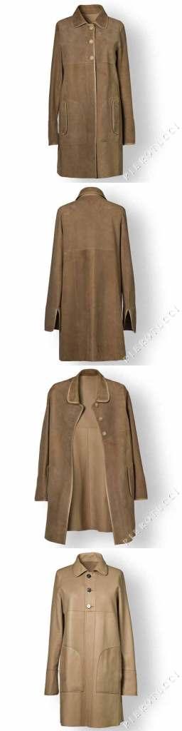 Reversible Italian Leather Jacket from Pierotucci