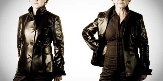 Womens Leather Jacket, style fitted waist