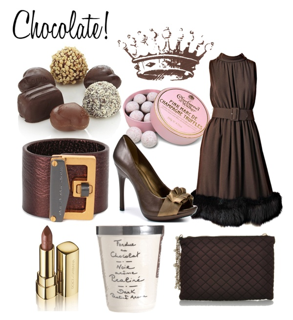 Chocolate and Designer Fashion