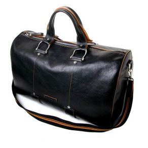 Toscanella natural leather duffle bag