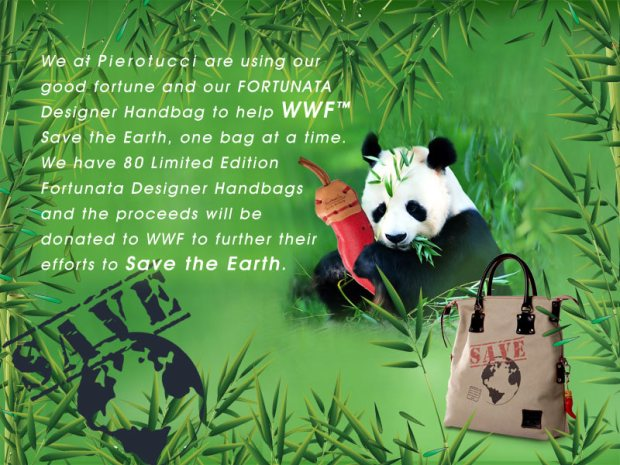 Fortunata Designer Handbags and WWF