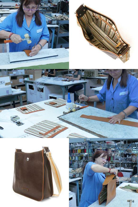 Toscanella Leather Messenger Bag