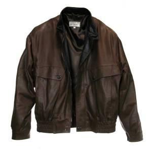 Italain leather bomber jacket