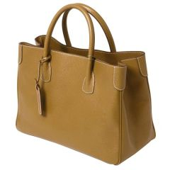 Calfskin Italian Leather Handbag