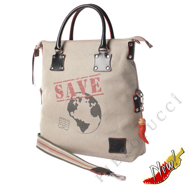 Fortunata desginer tote bag and WWF