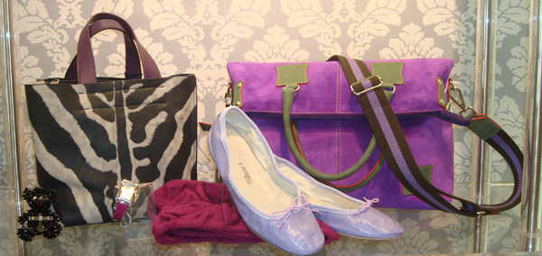 purple porselli fortunata tote bags and furla handbags