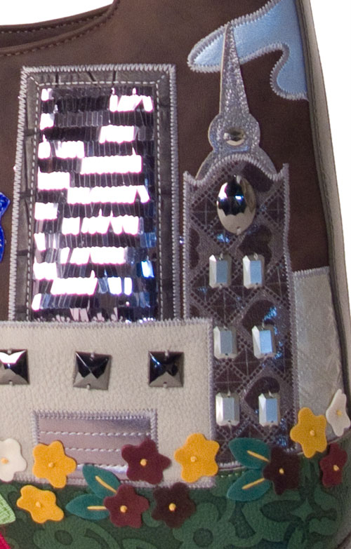 Braccialini and Skyscraper gems on Designer handbags from Pierotucci