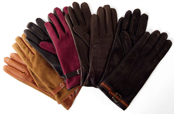 Italian leather driving gloves from Pierotucci