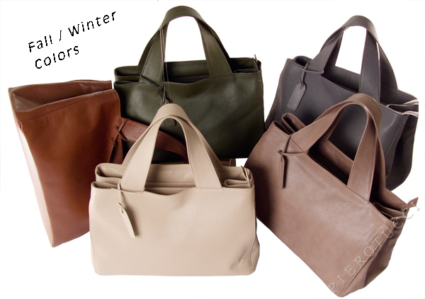 Winter colors in top calf leather from Pierotucci