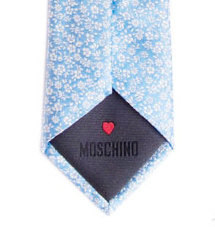 Moschino Italian Silk Ties from Florence Italy