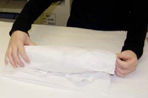 Finished roll of tissue paper for leather bag