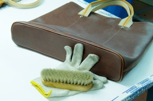 Tools for caring for your leather handbag