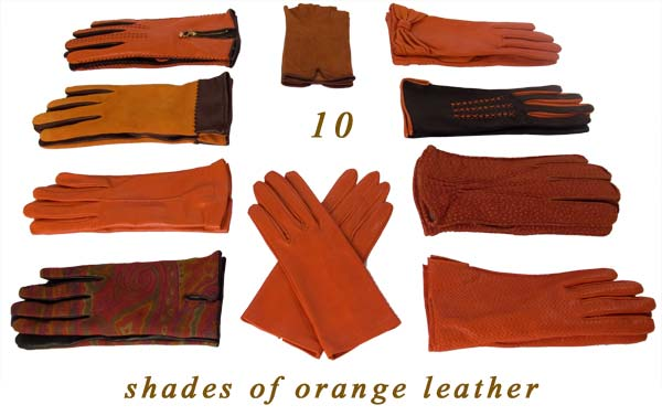 Italian leather gloves for men and women
