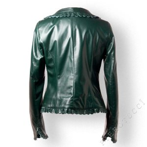 Italian leather jackets for Women from Pierotucci, Italy
