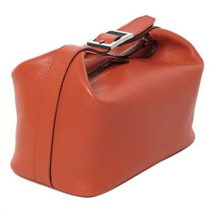 Italian leather cosmetic case from Pierotucci
