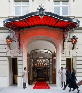 le Royal Monceau Hotel in Paris