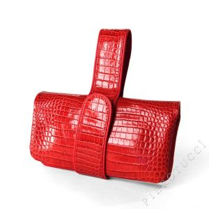 Genuine Red Leather Accessories from Pierotucci Italy