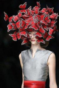 Alexander McQueen stuns with creative designs