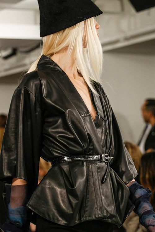 Leather jacket styles for FW 2013