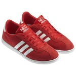 Adidias Running Shoes in a beauitful red