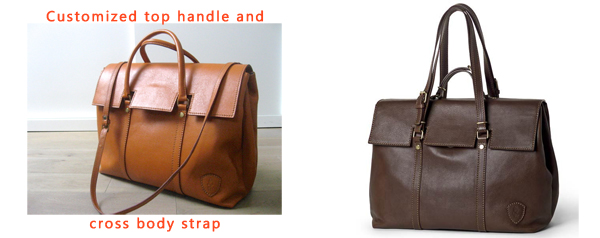 Customization and personalized Italian leather handbags and bags