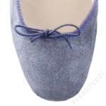 porselli ballet flats denim