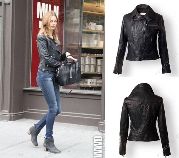 Italian leather jackets for women from Florence Italy